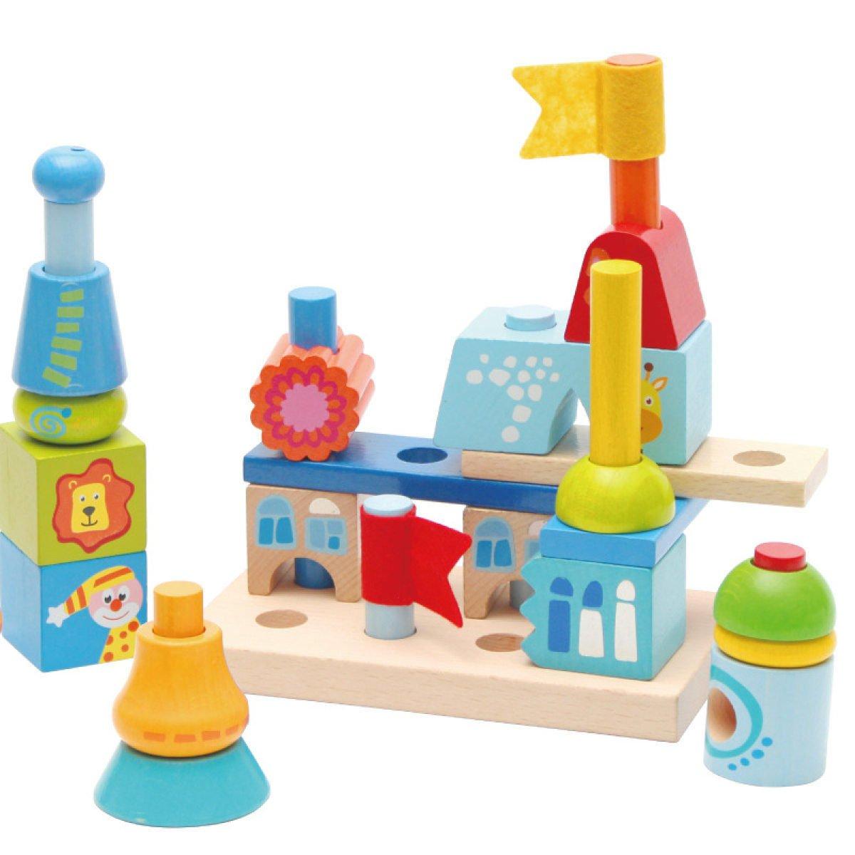 MEI Juguetes Para Niños Bloques De Construcción Para Niños Educación Infantil Juguetes Educativos Para Niños Pequeños Tamaño Del Producto: 13.8in  13.9in  2in