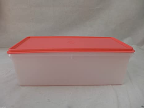 Beau Tupperware Jumbo Bread Storage Box   Guava