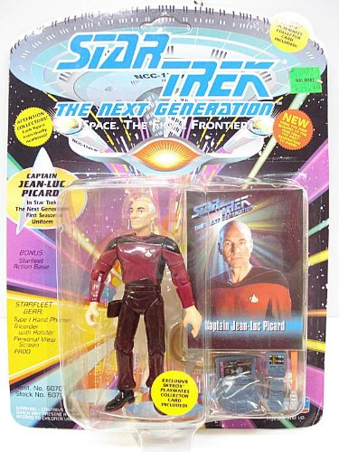 Captain Jean-Luc Picard in 1st Season Uniform from Star Trek: The Next Generation