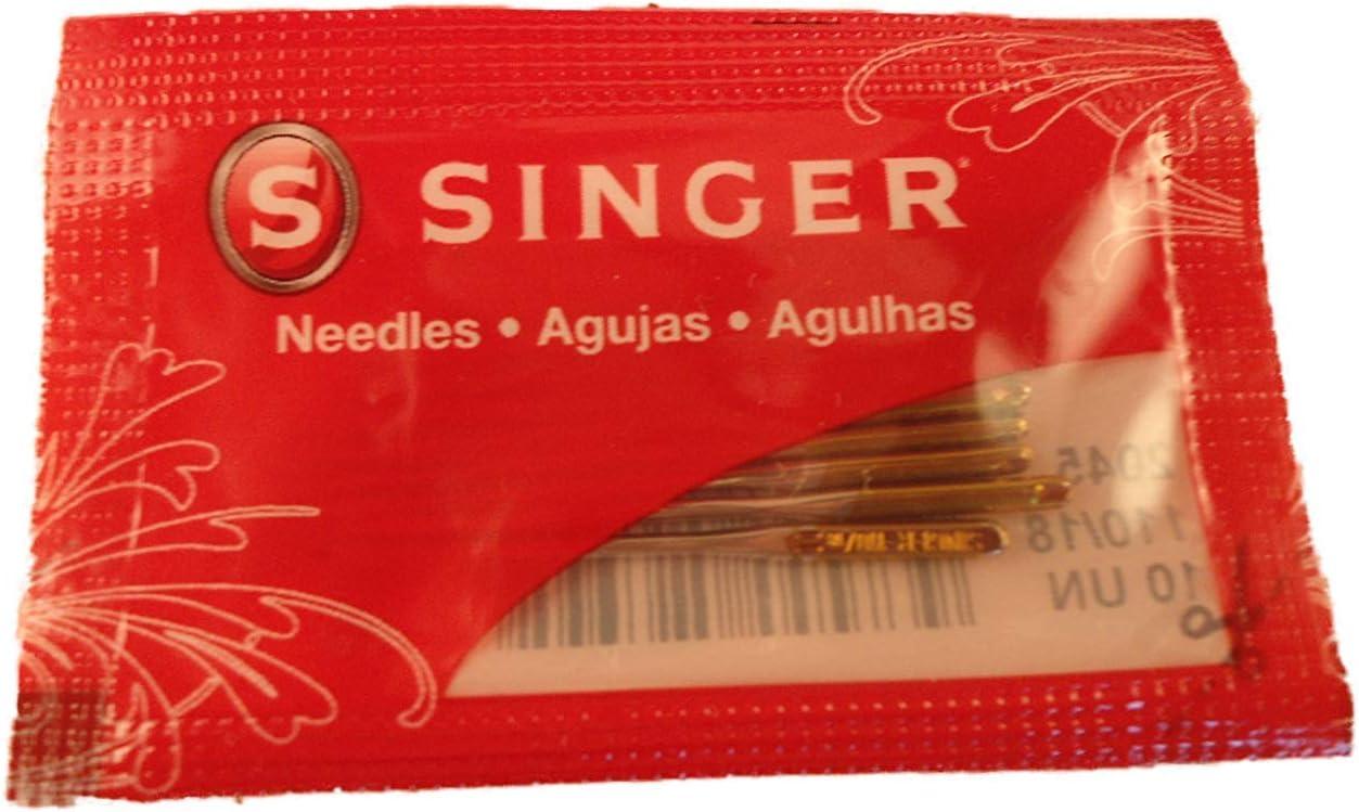 10 Ballpoint Needles 2045 Singer Sewing Machine  Size #11,13,14,16,18   HAx1