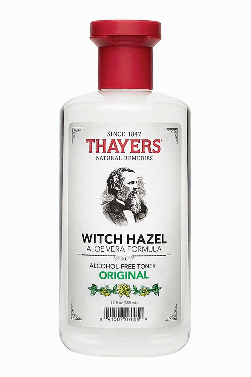 Thayers Natural Remedies Witch Hazel Original Organic Facial Toner with Aloe Vera Formula, 12 fl. Oz. product image
