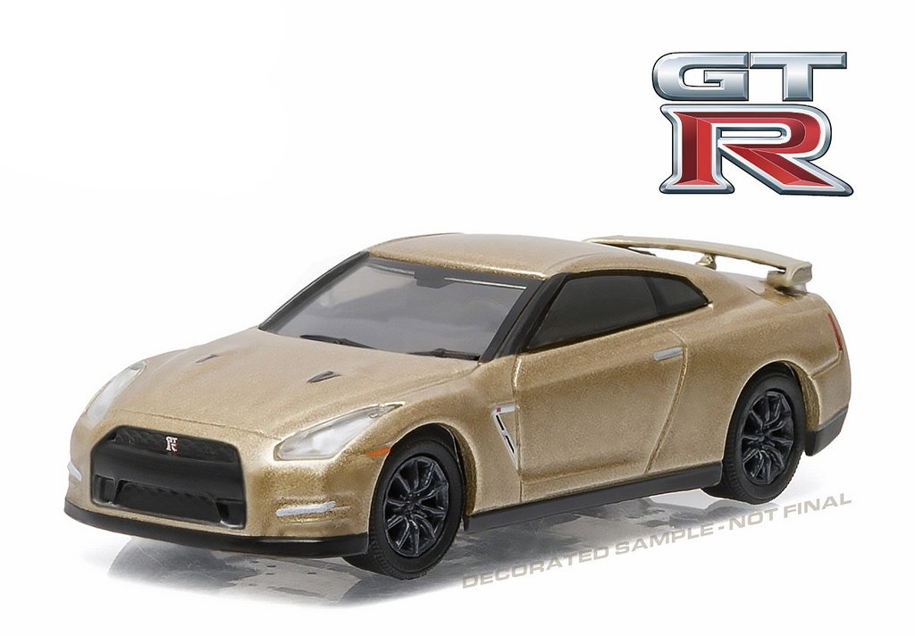 Amazon.com: GreenLight 1:64 2016 Nissan Gt R (R35) 45Th Anniversary Edition  Diecast Vehicle: Toys U0026 Games