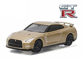 2016 nissan gt r. new 164 greenlight 45th anniversary series 3 collection gold 2016 nissan gt nissan gt r
