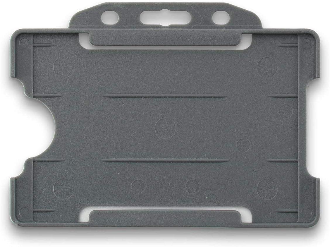 3-teiliges Set mit einem einfachen Schl/üsselband ausziehbarem Karabiner Yoyo Spule Clip und starrem ID-Kartenhalter rot LanyardsTomorrow Umh/ängeband und Ausweishalter