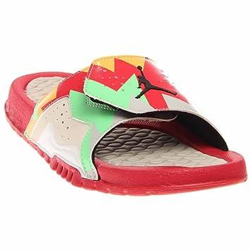 los angeles 3296e 01da3 Jordan Boys Hydro 7 Retro Slide Sandali, Rosso  Amazon.it  Scarpe e borse