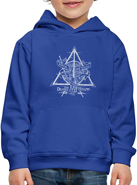 Harry Potter Voie 9 3//4 Pull /à Capuche Premium Enfant