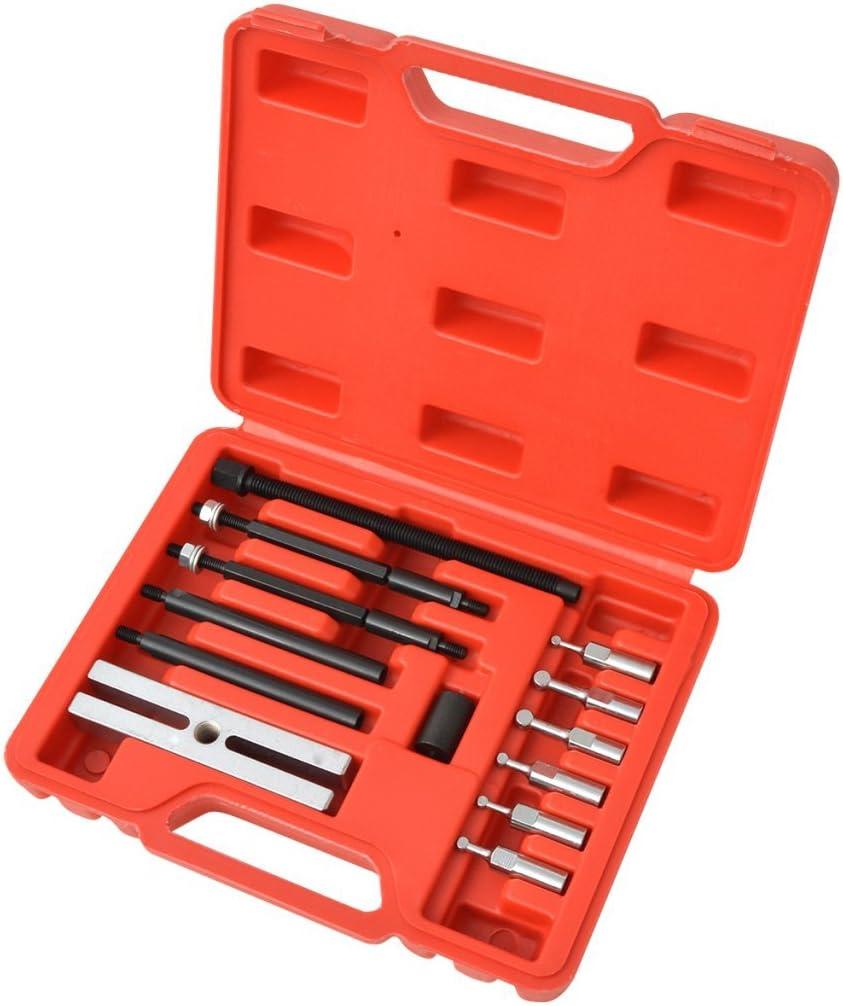 vidaXL Conjunto de extractores de rodamientos pequeños 19 unidades