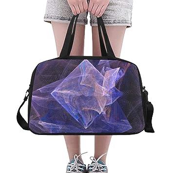 Bolso para Mujer Tres Dimensiones Diseño Cuadrado Yoga Gym ...
