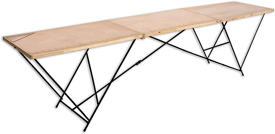 Holz-Tapeziertisch 300x60x76 cm