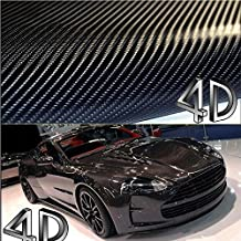 Bearfire 152x50cm Car Styling 4D Carbon Fiber Fibre Vinyl Film Motorcycle Car Accessories 3M Car Stickers And Decals Waterproof Wrap