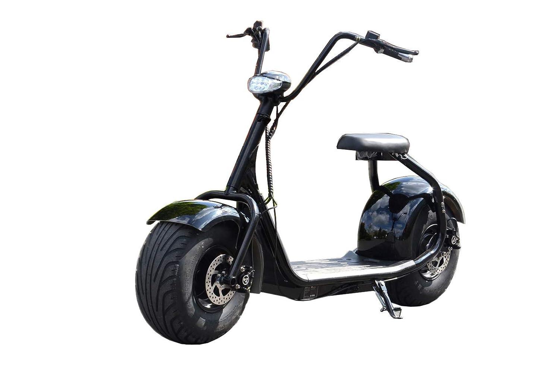 ES-TOYS Coco Bike Fat - Patinete eléctrico (hasta 40 km/h ...