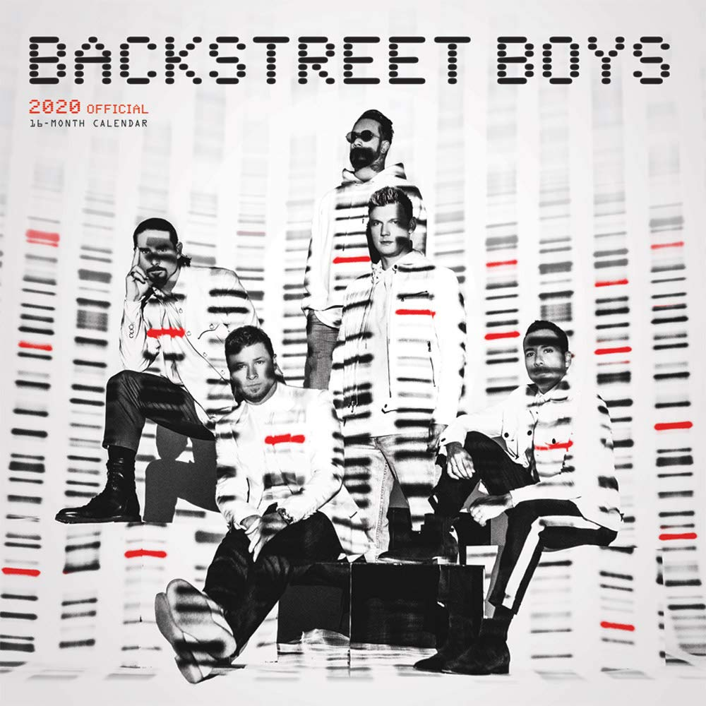 Backstreet Boys 2020 12 x 12 Inch Monthly Square Wall Calendar