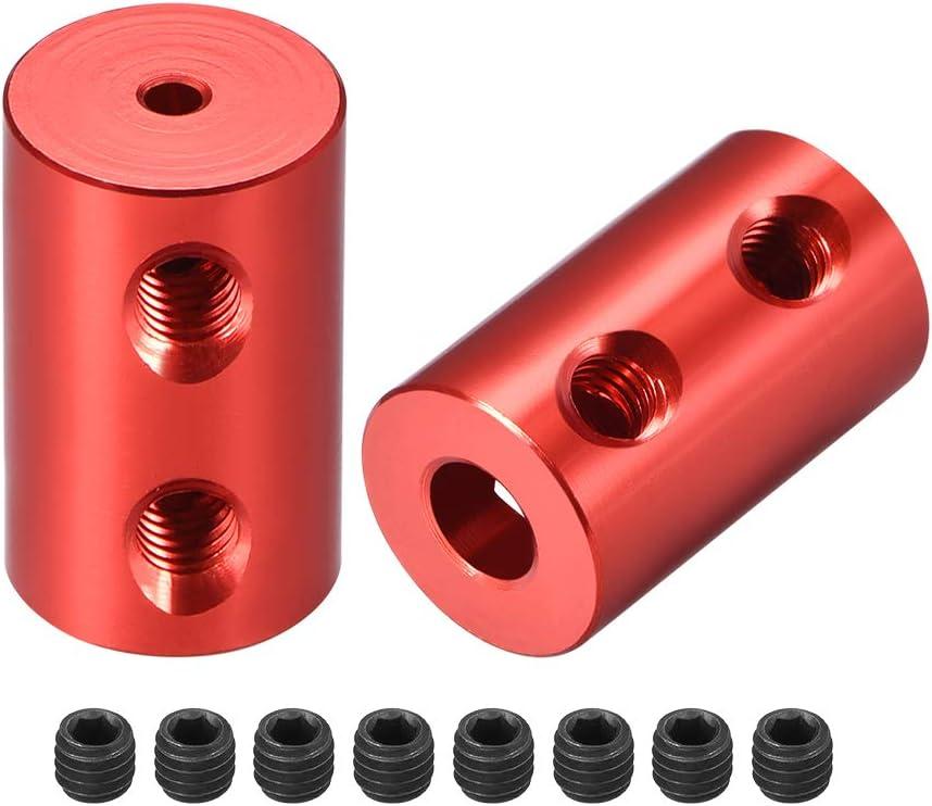 Sourcingmap Acoplamientos de eje rígidos de motor paso a paso de rueda flexible acoplador de conexión