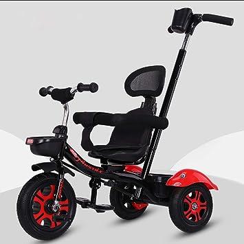MAOSF Sillas de paseo Triciclo multifuncional de empuje para ...