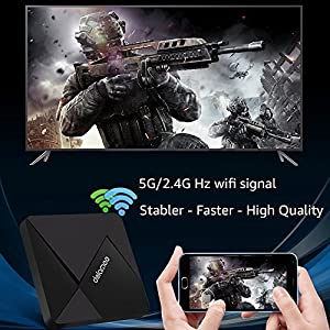 Android TV Box , DOLAMEE D5 Quad-core 2GB RAM 16GB ROM Smart 4K TV Box with Bluetooth 4.0 HDMI2.0 2.4G WIFI Media Player