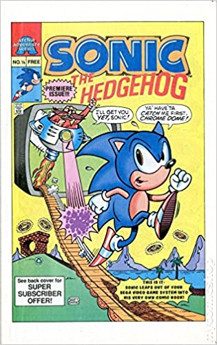 Sonic The Hedgehog Comic No 1 4 Archie Adventure Mini Series Premier Issue Archie Comics Amazon Com Books