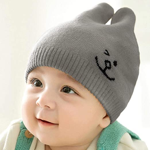 Myzixuan Sombrero Hecho Punto bebé niño Sombrero suéter Cap Cap de ...