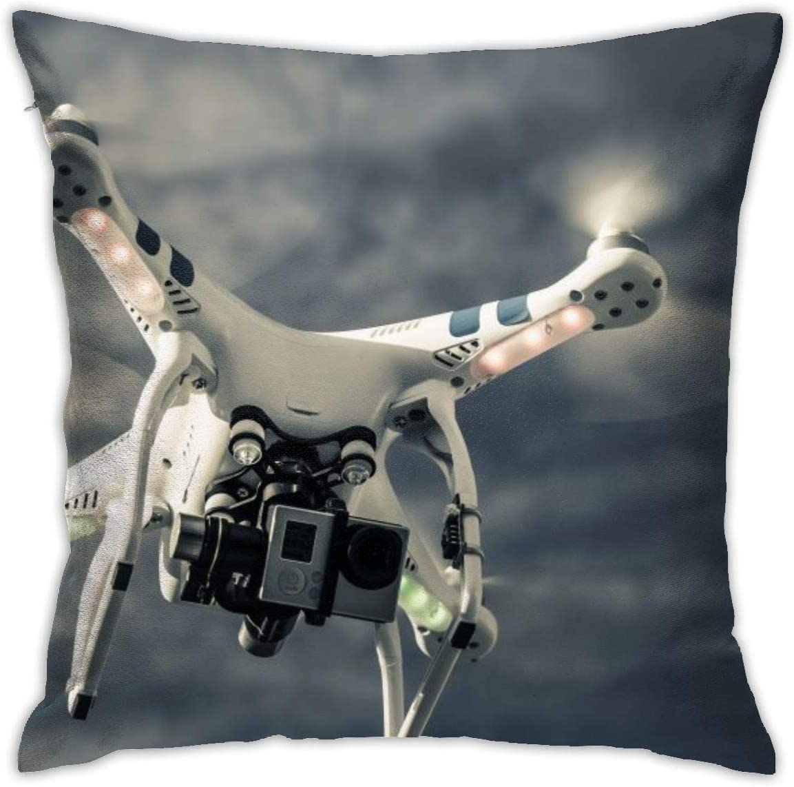 Cup Off Funda de Almohada de Tiro UAV Drone Bed Sofá Funda de Almohada Funda de cojín