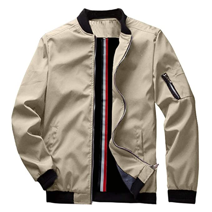 Amazon.com: Beast Supreme Mist Casual Bomber Jacket ...