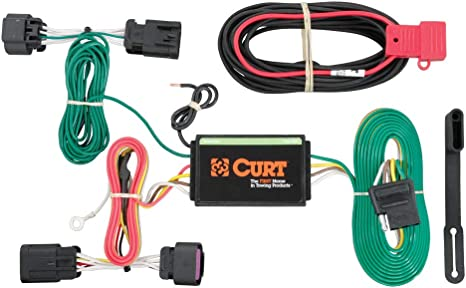 curt 56209 vehicle side custom 4 pin trailer wiring harness for select ram promaster curt trailer hitch wiring harness curt trailer wiring harness #3