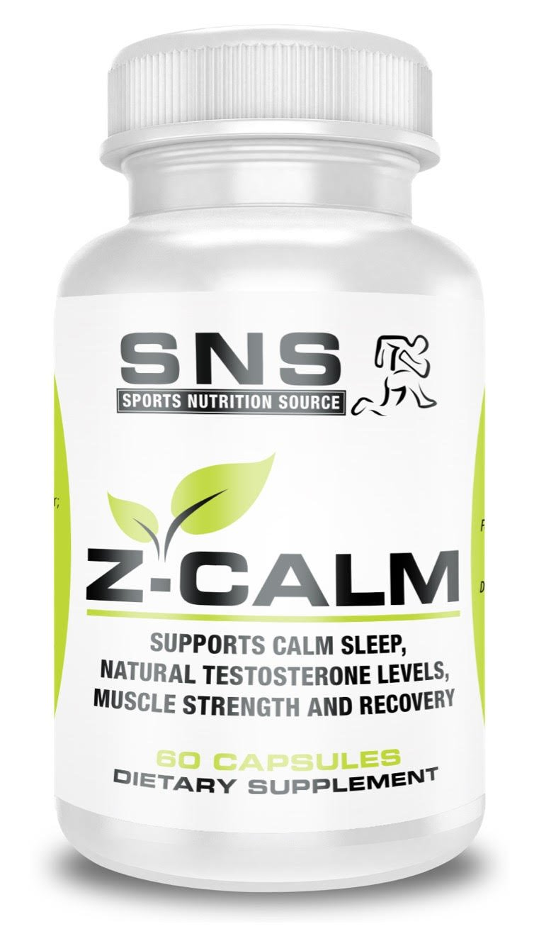 SPORTS NUTRITION SOURCE - Z-Calm Zinc and Magnesium (ZMA) 60 count