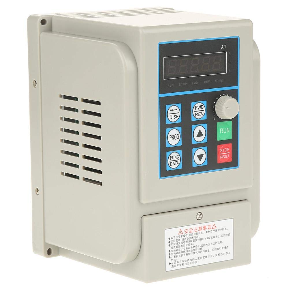 VFD 220V, Single-Phase Variable Frequency Drive,Low Noise Electromagnetic Interference,for 3-Phase 2.2KW AC Motor by Thincol (Image #8)