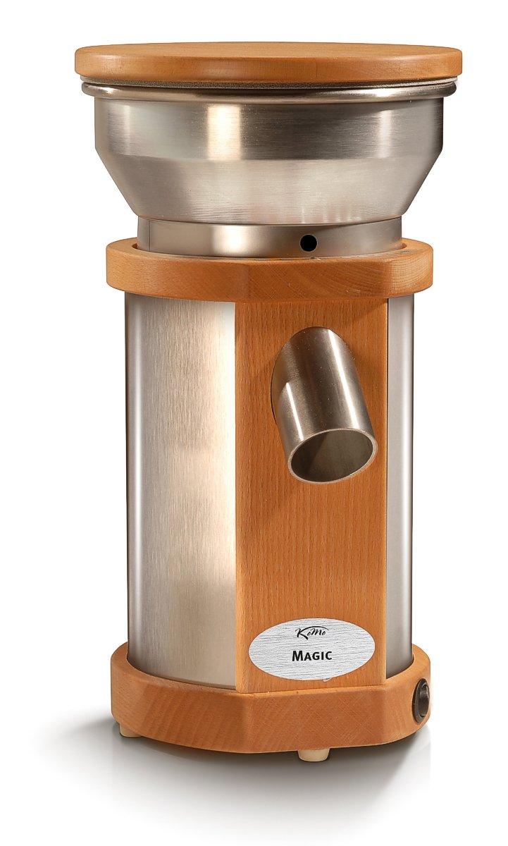 Komo Magic - Molinillo de cereales (250 W, capacidad de molienda: aprox. 100 g de trigo fino/min): Amazon.es: Hogar