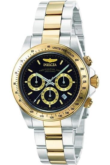 Amazon.com: Reloj de acero inoxidable de dos tonos de la ...