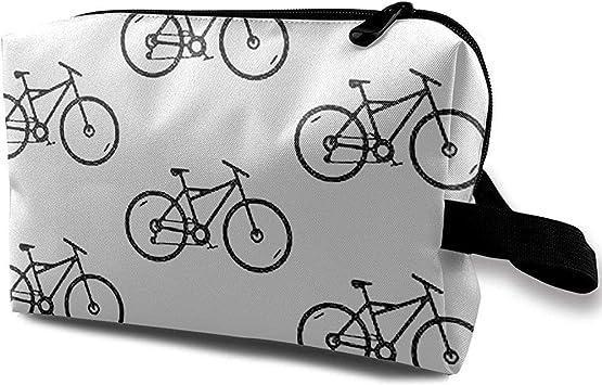 Bolsa de cosméticos de Viaje Bolso portátil Bicicleta Bolsa de ...