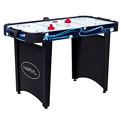 Amazon harvil 4 foot air hockey table air hockey equipment harvil 4 foot air hockey table greentooth