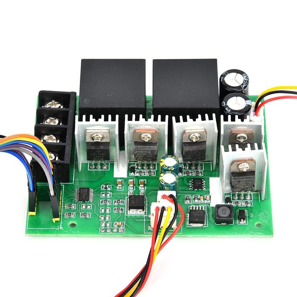 PWM DC Motor Regulador de velocidad Controlador Interruptor CW//CCW Interruptor 0~100/% 60A 12V//24V//36V//48V