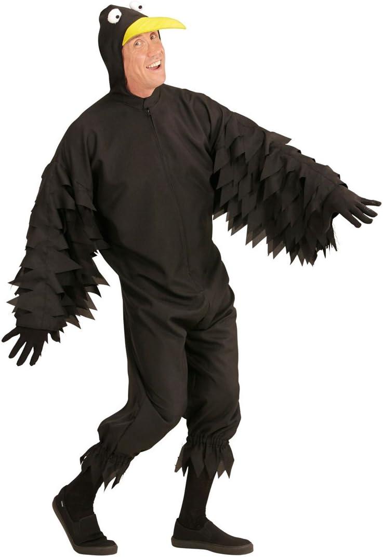 Disfraz Pájaro Negro - M (ES 50) | Mono para Hombres de Cuervo ...