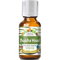 Pure Gold Buddha Wood Essential Oil, 100% Natural & Undiluted, 30ml