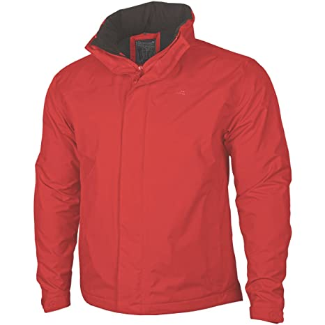 Atlantic Abbigliamento Giacca Rain Uomo it Amazon Plus Pentagon Rosso gwf4n