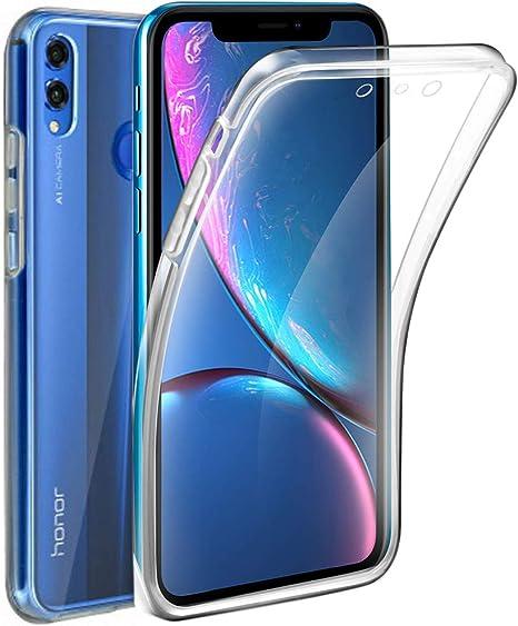 AURSTORE móvil Huawei Honor 8 x, Carcasa de Gel, 360 Degrees ...