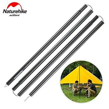 Naturehike Aluminium Alloy Awning Rod Outdoor Support Rod for Tent Sun Shelter Poles for C&ing  sc 1 st  Amazon.com & Amazon.com: Naturehike Aluminium Alloy Awning Rod Outdoor Support ...