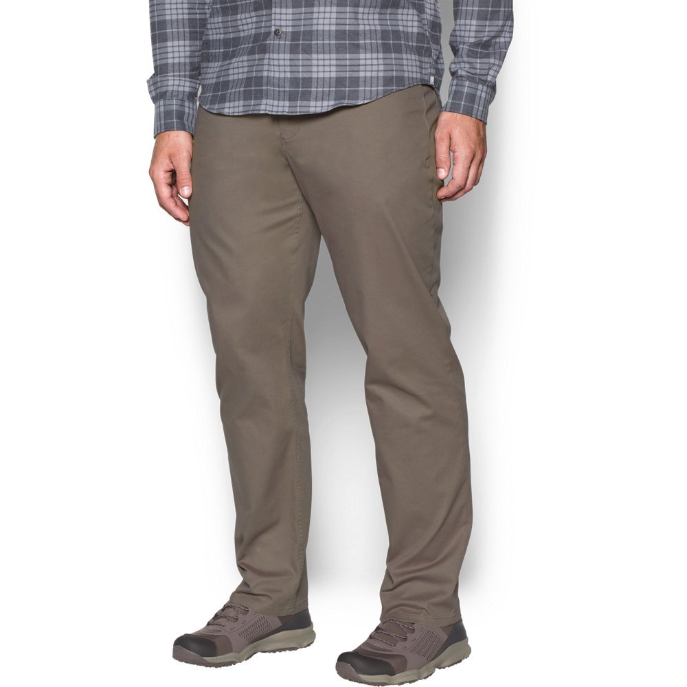 Under Armour Men's Payload Pants, Stoneleigh Taupe /Stoneleigh Taupe, 42/36 by Under Armour