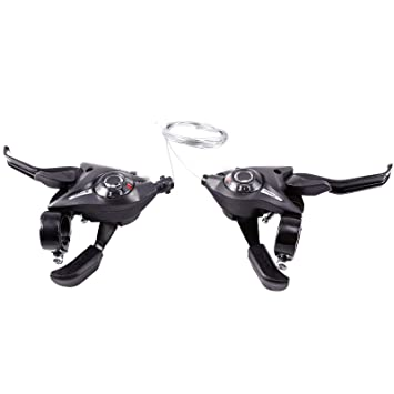 8//24 Speed Change Gear Shifter MTB Mountain Bike Bicycle Lever Aluminum Alloy