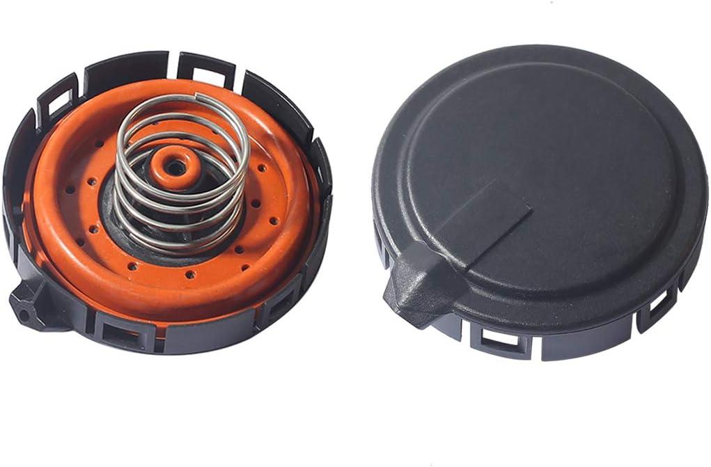 PeakCar PCV Valve Positive Crankcase Ventilation 11127547058 14506018001 11127537733 Replacement Compatible with BMW 545I 550I 645I 650I 745I 750I Alpina B7 X5//47058 pack of 2
