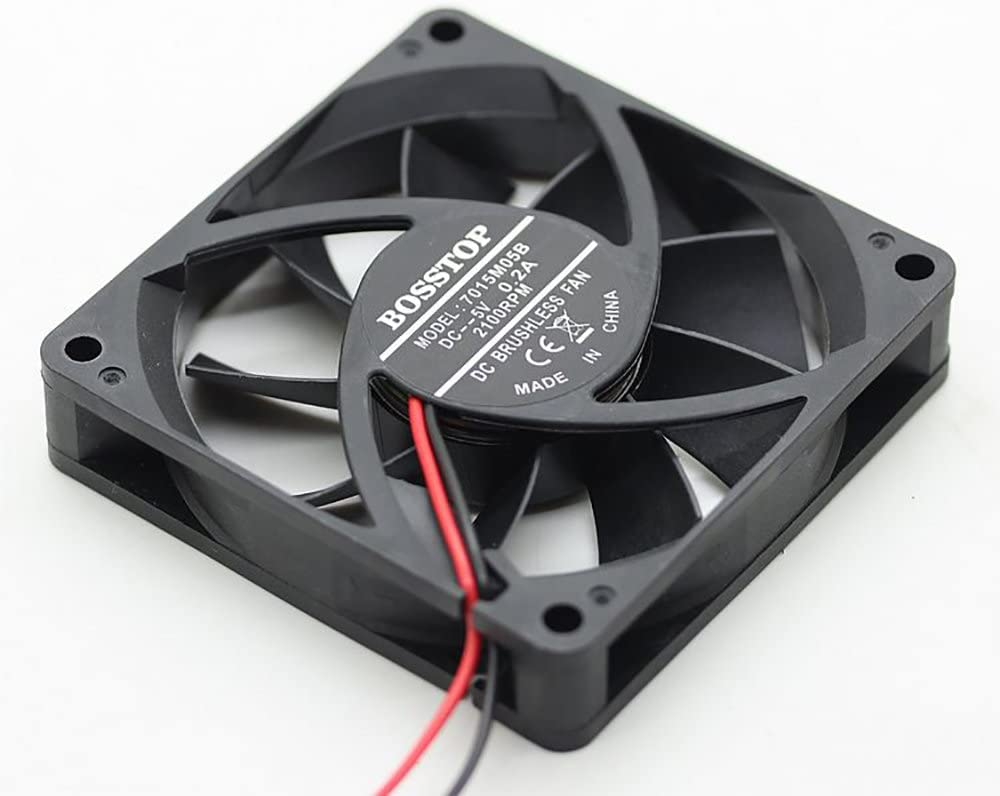 ASUS RT-AC68U EX6200 router 5v mute TWO fan cooling 7CM USB Cooler Ultra Silent