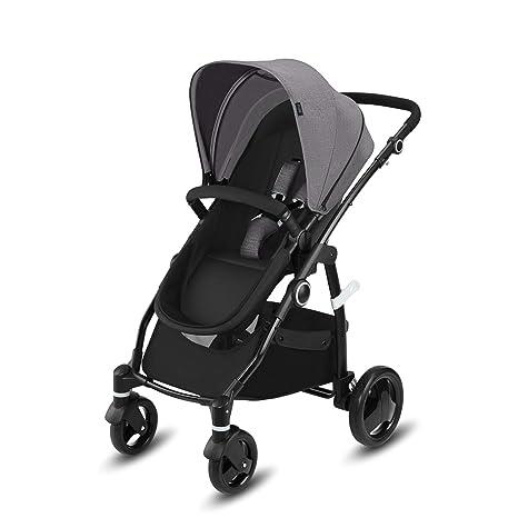 Cbx Leotie Pure - Cochecito con asiento reversible y capazo para recién nacidos, incluye cubierta
