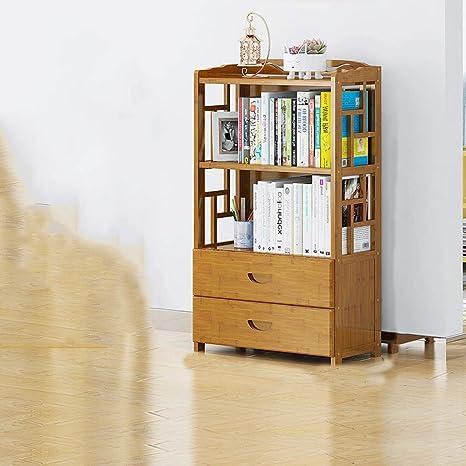 new concept 97a73 8fa70 Amazon.com: Floor Children's Solid Wood Bookshelf, Student ...