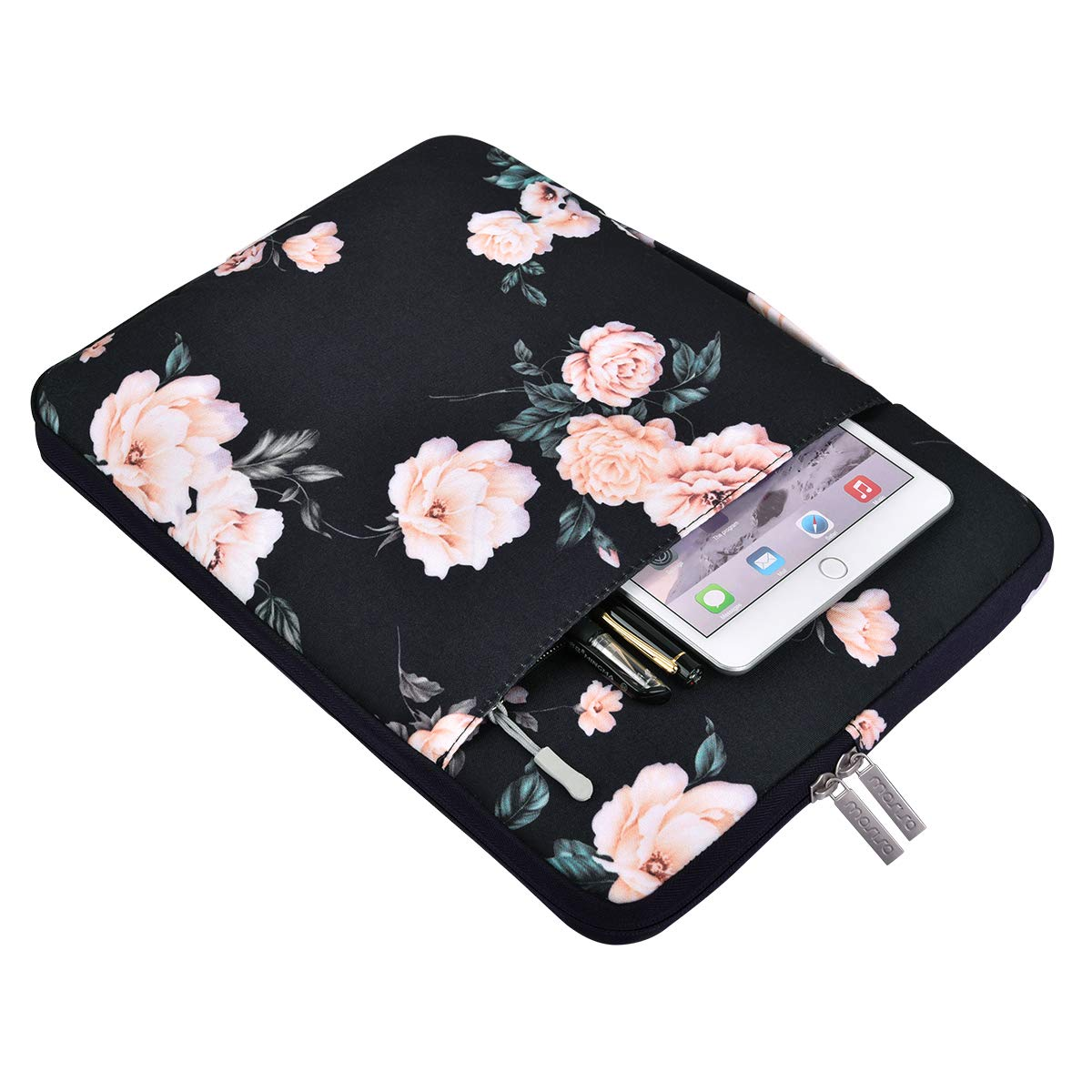 MOSISO Malet/ín Compatible 13-13.3 Pulgadas MacBook Pro Retina//MacBook Air//Surface Laptop 2 2018 2017//Surface Book 2//1 Poli/éster Protectora Multifuncional Funda Bolso Rosado
