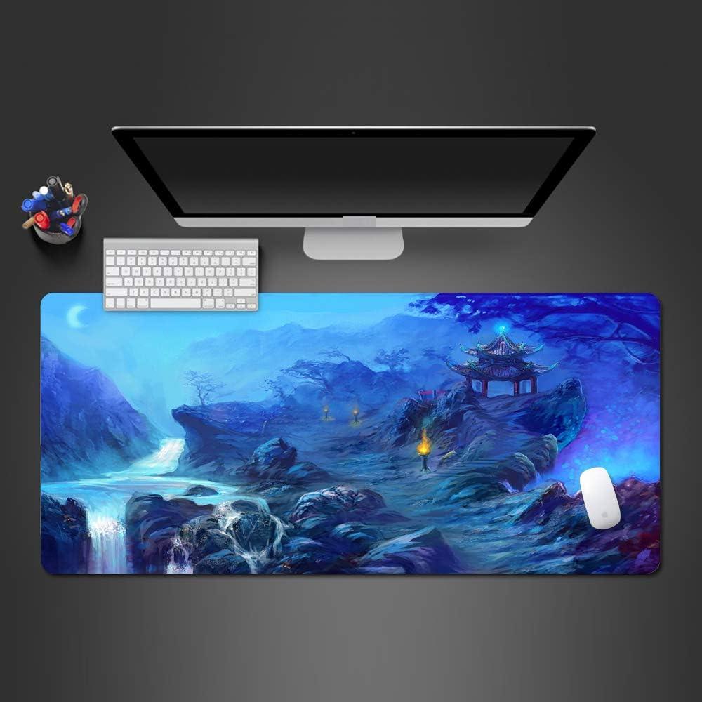 Hot Creative Cool Game Mouse Pad Accesorios de Juegos de Alto Arte Gaming Mouse tapete de Mesa Grande tapete de Goma 900x400x2mm: Amazon.es: Electrónica