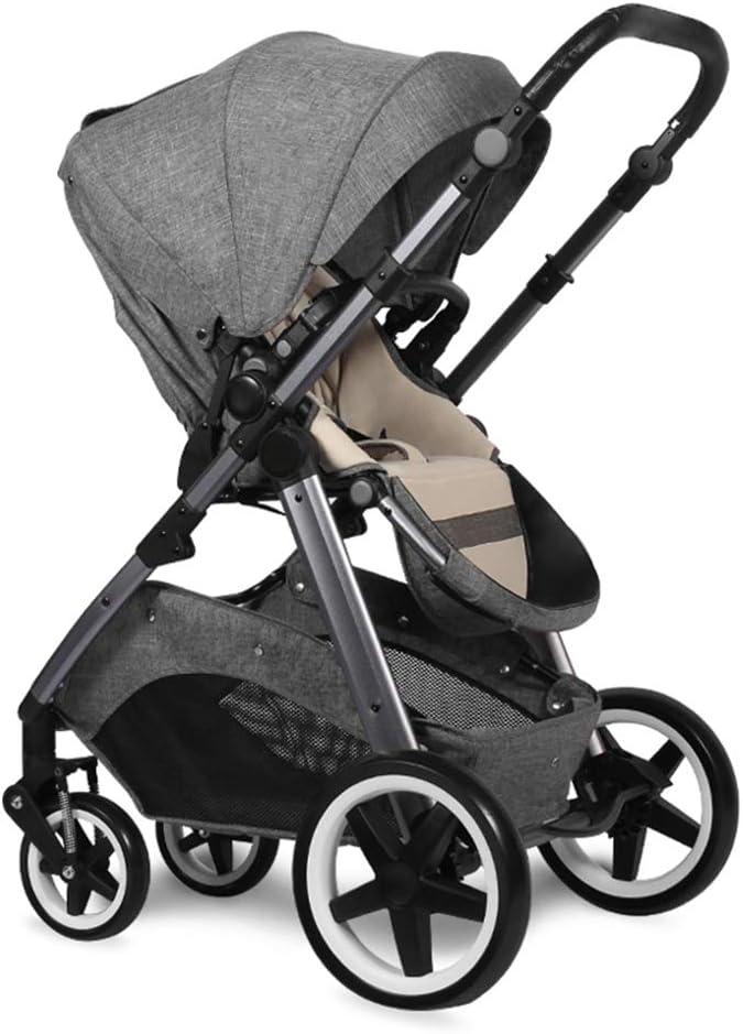 高い景色の赤ん坊のベビーカーの双方向の懸濁液のベビーカーの折る携帯用シットバックのベビーカー