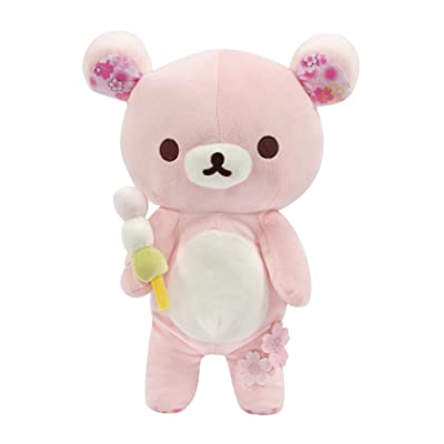 "Rilakkuma Cherry Blossom Series Plush, Doll, Stuffed Animal, Authentic Licensed Product - 15"": Toys & Games"