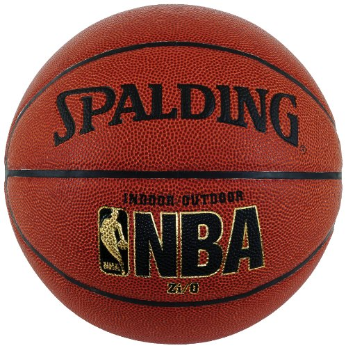 Spalding NBA Zi/O Indoor/Outdoor Basketball – Official Size 7 (29.5″)