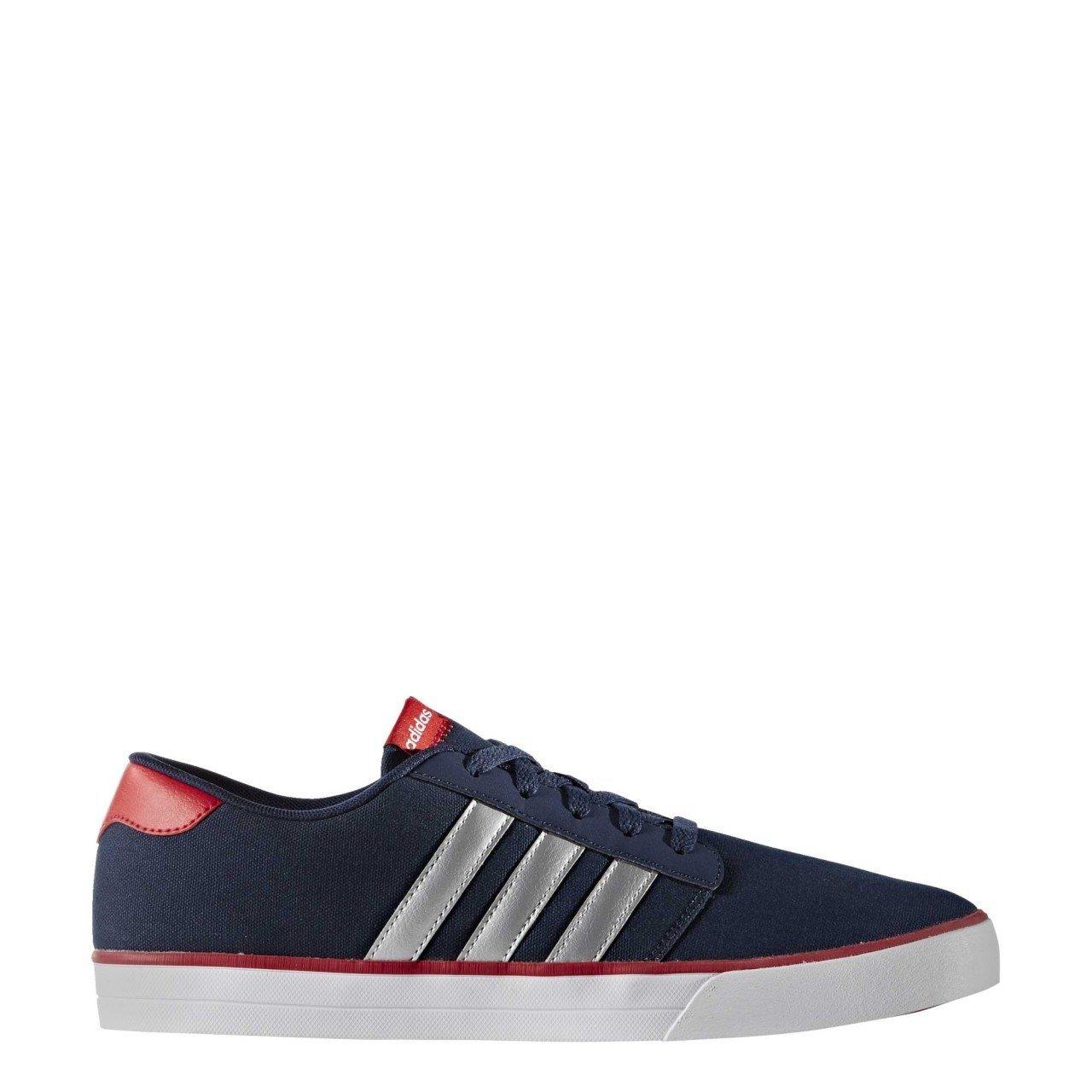 meet e2421 c7bda Adidas Vs Skate, Scarpe da Skateboard Uomo, Blu (Maruni Plamat Escarl), 42  EU  Amazon.it  Scarpe e borse