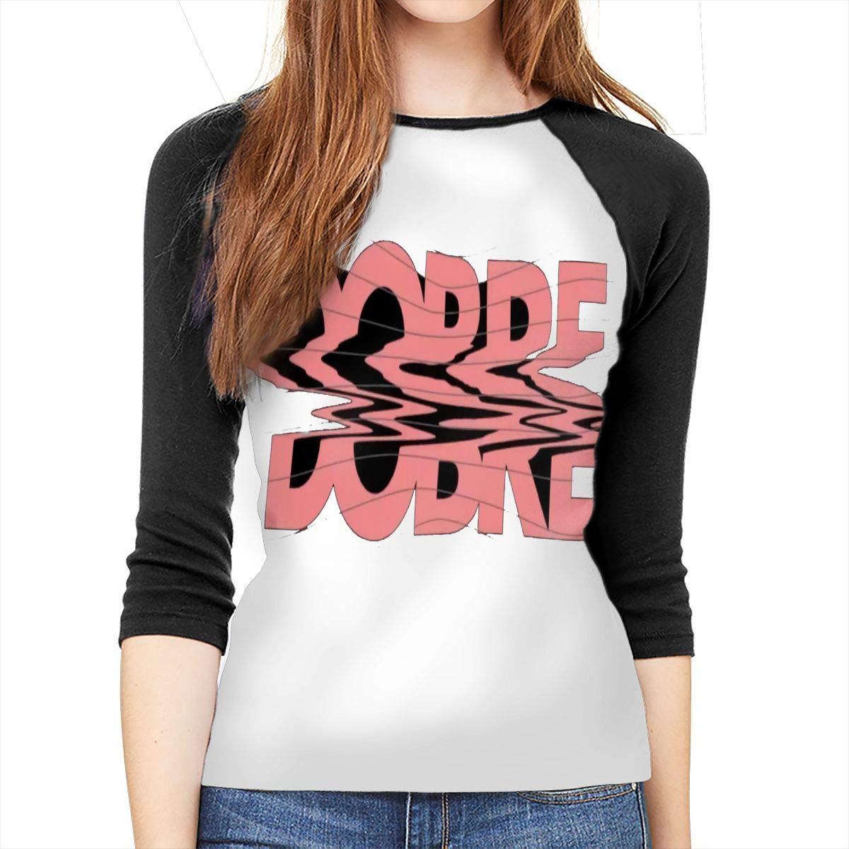 WangSiwe Dobre Brothers Music Band Womens Shirt 3//4 Sleeve Casual Scoop Neck Tops Tee S-XXL Black T-Shirt