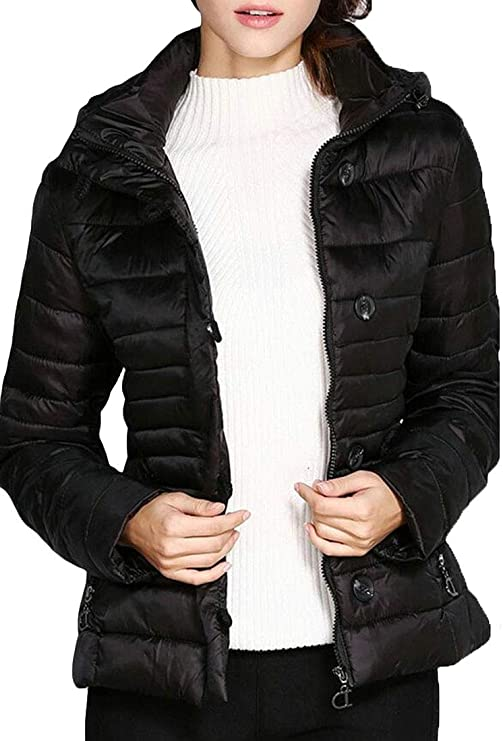 Beloved Mens Winter Quilted Hooded Long Down Jacket Coat